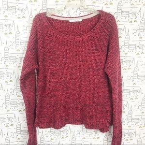 VICTORIA'S SECRET Red Crewneck Knit Sweater XL